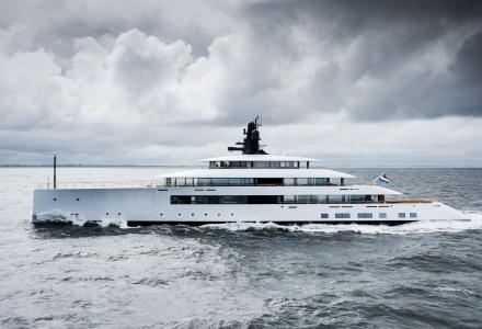 Jarkko Jämsén in collaboration with Feadship: project Syzygy 818