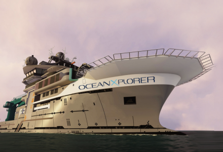 OceanXplorer expeditionary ship launched in Netherlands