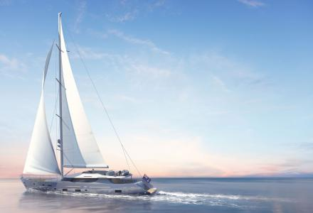 Mengi Yay reveals 42.5m S/Y L'Aquila II construction
