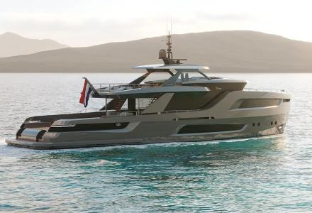 Holterman Shipyard showcases new 32.6m X-Treme105