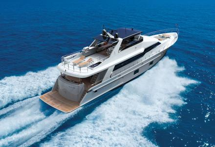 CL Yachts showcases the CLB88