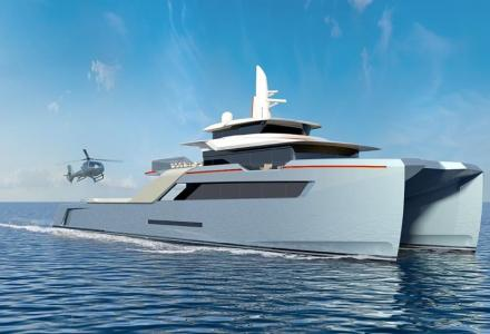 Echo Yachts showcases 50m Project Echo