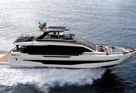 Astondoa showcases 25m Flybridge Yacht AS8