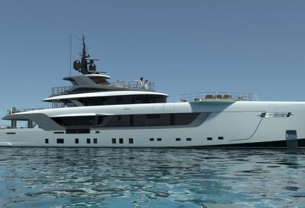 Admiral is launching superyacht Geco