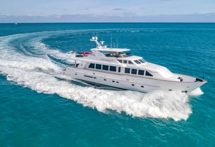 Hargrave motor yacht Inevitable got a new owner