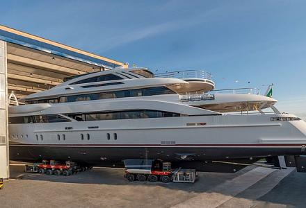 New Rossinavi launch: 52m motor yacht Florentia