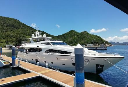 Shanhuhai No.1: 9th Asteria 108 has been delivered by Heysea Yachts