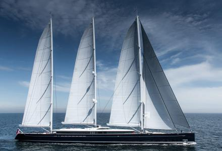 Sea Eagle II: World's largest aluminium sailing yacht is ready for delivery