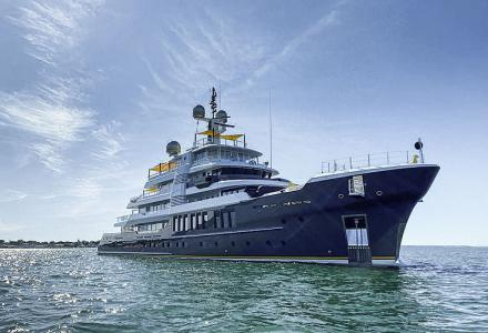 Spotted: the 64m expedition yacht Scout in Martha's Vineyard