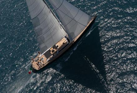 31m Perini Navi sailing yacht Xnoi got a new owner