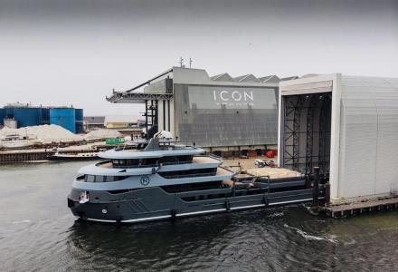 Project Ragnar by Icon Yachts is ready for delivery