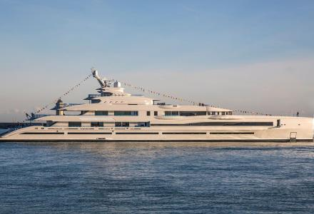 New delivery: Benetti's largest 107m superyacht Lana