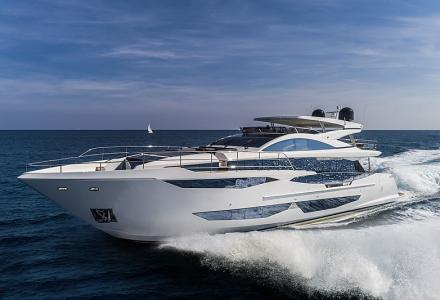 The third 29m Pearl 95 yacht has been sold