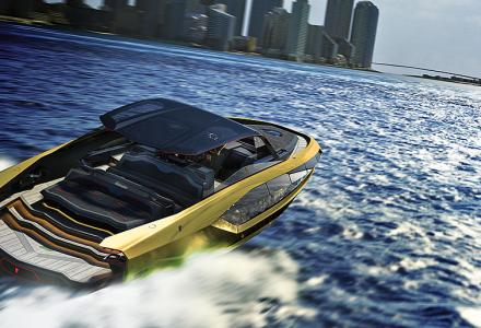 The Lamborghini of the sea: Italian Sea Group's new Lamborghini 63 project