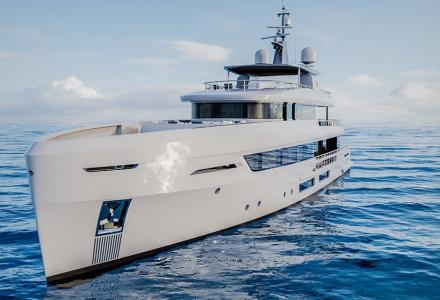 Tankoa's new 45m T450 superyacht model