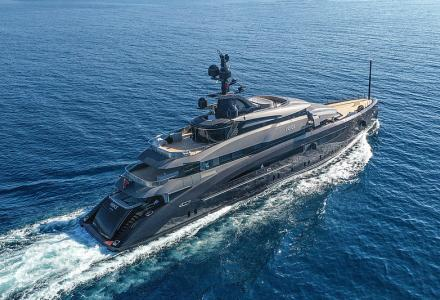 CRN has delivered 62m superyacht Voice