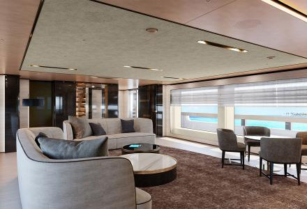 Baglietto reveals interiors of 48m T-Line Superyacht for the first time