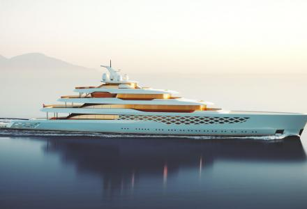 How to design a yacht for Freddie Mercury and Forrest Gump? Feadship reveals new 109m Superyacht concept