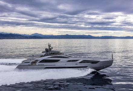 Pershing delivered the second Pershing 140 unit