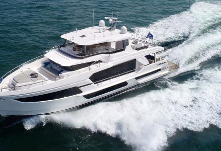 The second FD75 model is launched by Horizon Yachts