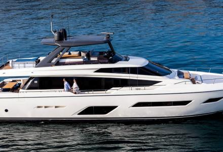 """Just Like Home"" campaign by Ferretti Yachts to win the Media Key award"
