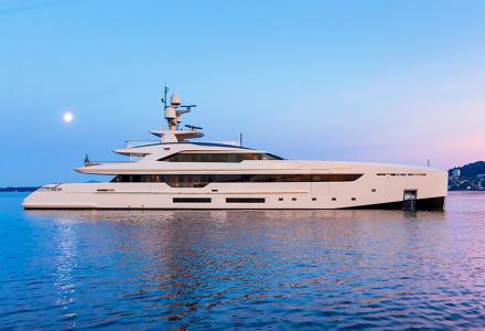 New construction update was issued on the fourth S501 Hybrid Superyacht by Tankoa Yachts