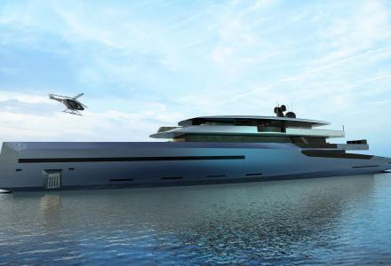 Bravo 75 - the new 75-metre superyacht concept by BYD Group