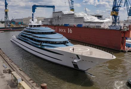 Lürssen successfully redelivers 110m KAOS ex JUBILEE following an extensive refit