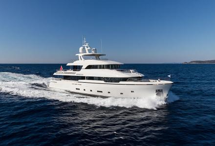 Brigadoon - the winner of the 2019 Semi-Displacement or Planing Motor Yachts 33m to 39.9m World Superyacht Award