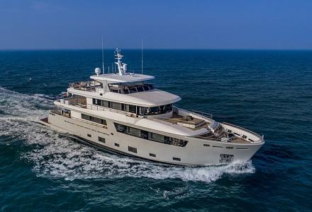 Mimi La Sardine - the winner of the 2019 Displacement Motor Yachts Below 299GT World Superyacht Award