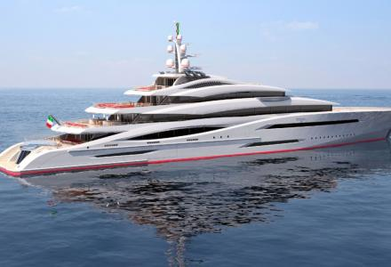 100 Metre Superyacht Project Century X was revealed by Ocean Independence