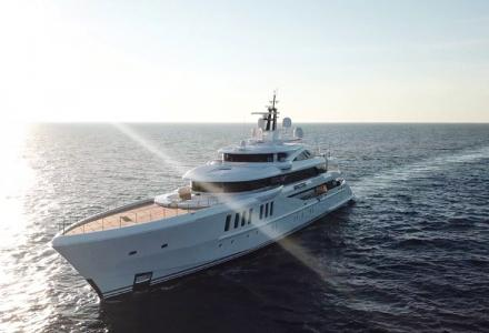 Spectre - the winner of the 2019 Displacement Motor Yachts between 500GT and 1,999GT World Superyacht Award