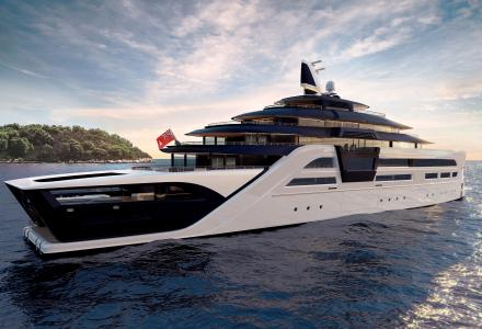 ULTRA2: A Sleek, environmentally friendly Superyacht.