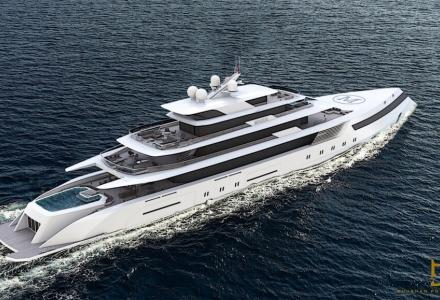 The 91-meter Yacht Mogul Concept by a Social Media Influencer