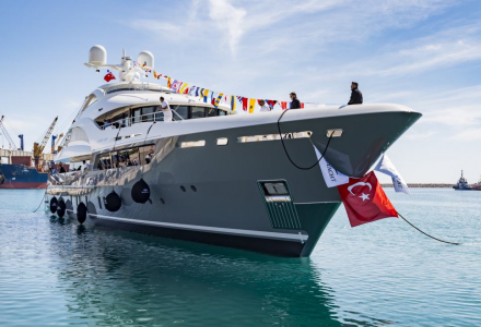 Sarp Yachts launches their first superyacht: Sarp 46