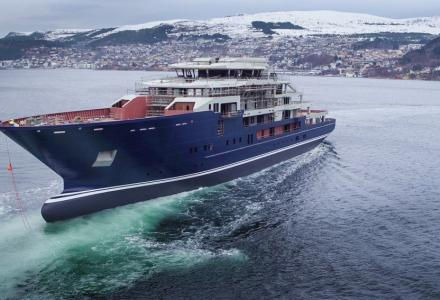 Kleven launch 116m yacht