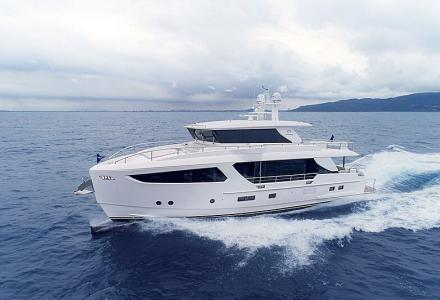 Horizon Yachts Has Delivered Their Third FD80 Hull