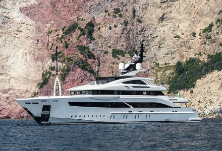 Rossinavi has delivered the 52m Superyacht Florentia