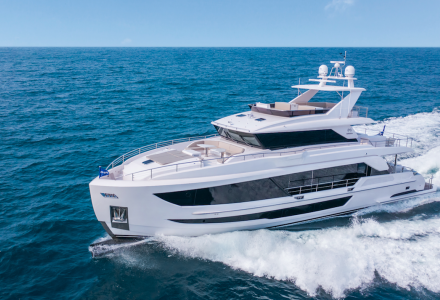Horizon Yachts Has Launched Second Tri-Deck FD92