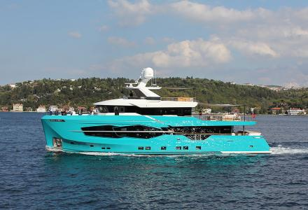 The 7 Diamonds 32m Numarine Yacht Has Been Delivered