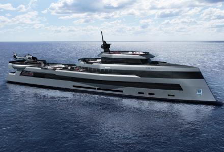 Impressive 70m Expedition Yacht Concept by Kyron Design