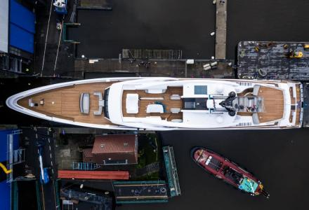 Feadship's Project 819 Has Launched