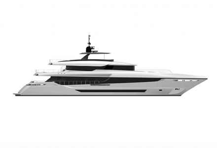 The New Build 43m Mangusta Oceano Project Como Has Been Sold