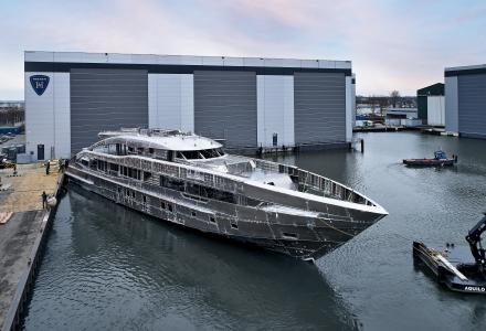 Heesen Has Joined the Hull and Superstructure on 50m Project Sapphire