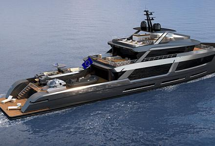 MP Yacht Design Reveals the 50m Explorer Concept