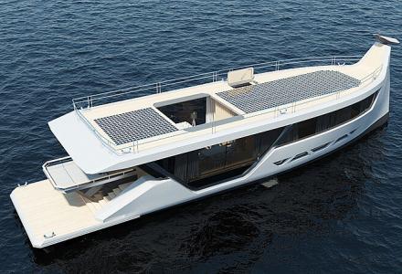 26m Yacht Concept That Can Be Controlled From Your Smartphone