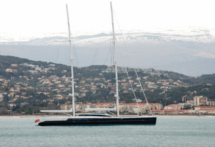 85m sailing superyacht Aquijo delivered