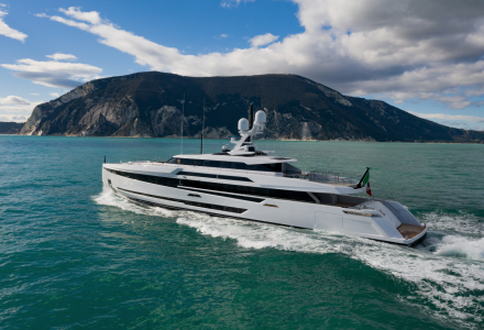 Columbus Yachts Has Completed the First Sea Trials of the New 50m