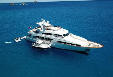 Camper and Nicholsons Has Announced the In-House Sale of 34.95m Brunello
