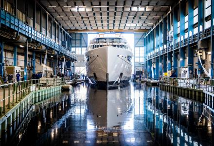 Feadship Has Launched The 94m Project 817